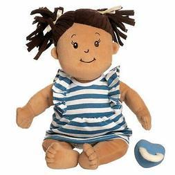 """Manhattan Toy Baby Stella Ethnic Beige with Brown Hair 15"""" S"""