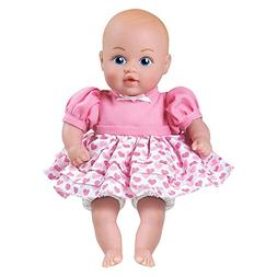 """Adora Baby Tots Pink Dress 8.5"""" Girl Weighted Cuddly Washabl"""
