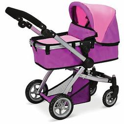 Mommy & Me Doll Collection Babyboo Deluxe Doll Pram Color Pi