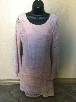 Xhilaration Babydoll Dress with Kimono Type Sleeves Sz M Mau