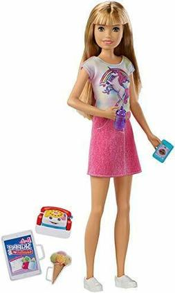 Barbie Babysitters Inc. Doll Blonde with Phone Baby Bottle f