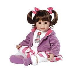 "Adora Balancing Act Brown Hair with Brown Eyes 20"" Baby Doll"