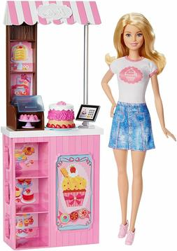 Barbie Bakery Owner Doll and Playset