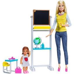 Barbie Career Teacher Doll and Playset, DMR41, NIB