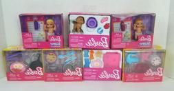 Mattel Barbie Doll Accessories Food Kitchen Spa Puppy and Ba