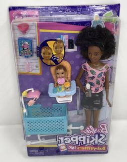 Barbie Doll Babysitters Inc Feeding Playset African American