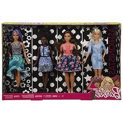 Barbie Fashionistas Dolls 4-Pack