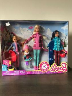 Barbie Sisters Stacie Chelsea Skipper Pink Passport Winter G