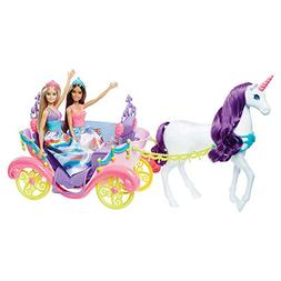 DREAMTOPIA Barbie SWEETVILLE CARRIAGE and BARBIE Doll PRINCE