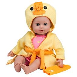 "Adora BathTime Baby ""Ducky"" 13"" Fun Kids BathTub Water /"