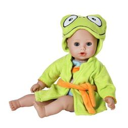 bathtime frog washable play doll