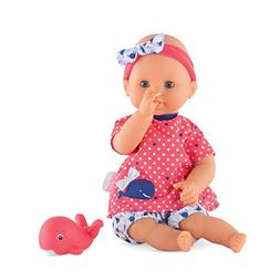 Corolle Bebe Bath Girl Toy Baby Doll, Multicolor