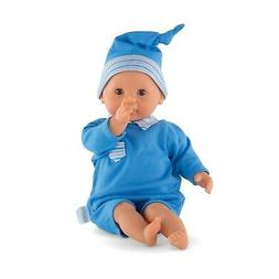 Corolle Bebe Calin Toy Baby Doll, Blue