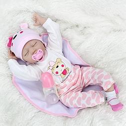 Belly Reborn Baby Dolls Handmade Lifelike Baby Gift ,22-inch