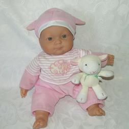 "Berenguer Baby Doll Lamb Cloth Body JC Toys 14"" NEW WITHOUT"