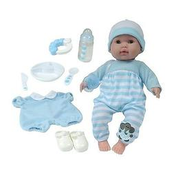 "JC Toys Berenguer Boutique 15"" Boy Soft Body Baby Doll, One"