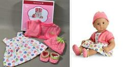 AMERICAN GIRL BITTY BABY BERRY ADORABLE STRAWBERRY OUTFIT FO