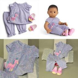 AMERICAN GIRL BITTY BABY CUDDLY GIRAFFE PJS PAJAMAS FOR DOLL