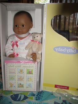 American girl Bitty Baby Doll, BB5 Med Skn Dr Brn Eyes & Hai
