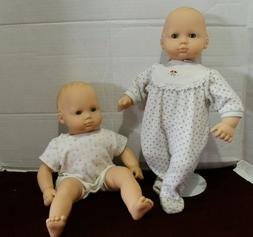 American Girl Bitty Baby Dolls Lot of 2! W/Tagged outfits an
