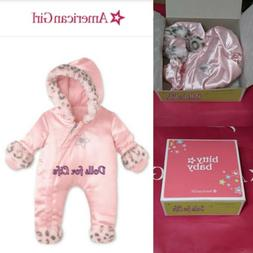 "American Girl BITTY BABY  LITTLE LEOPARD SNOWSUIT for 15"" Do"
