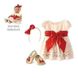 American Girl Bitty Baby - Cream and Crimson Ouftif for Doll