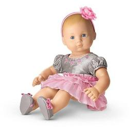 "American Girl BITTY BABY  TWIRLY TIERED DRESS for 15"" Baby D"