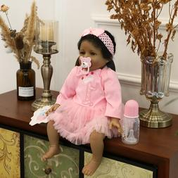 Black Dolls Realistic Look Biracial Baby Girls Reborn Dolls