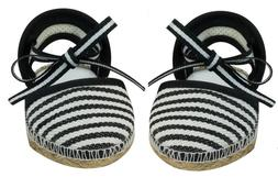 Black Espadrilles Sandals for American Girl / Baby 15 18 inc