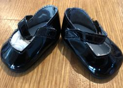 Black MaryJane  Shoes For Bitty Baby Dolls. New, Easy To Put