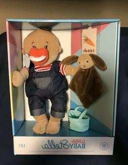 """Boy Wee Baby Stella Soft Baby Doll Farmer 12"""" Manhattan Toy"""