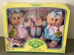 brand new twin babies dolls blonde girls