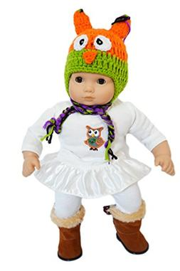 My Brittany's Fall Owl Outfit for American Girl Dolls Bitty