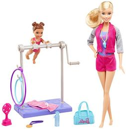 Barbie Careers Gymnastic Coach Playset