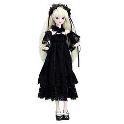"""Cecilia Gothic Style 1/3 SD Doll 60cm 24"""" Ball Jointed BJD D"""