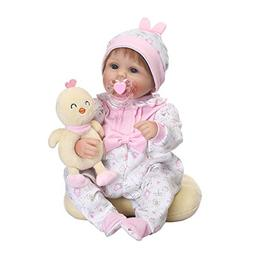 Realistic Doll 16inch for 2 Year Old Girl Reborn Silicon Ful