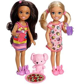 Barbie Club Chelsea Slumber Party Dolls & Accessories, 2 Pac