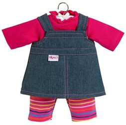 Corolle Denim Dress, Baby Dolls 17 ""