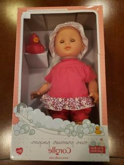 "Corollle Doll Bath Baby Corolle Flowers NIB 12"""