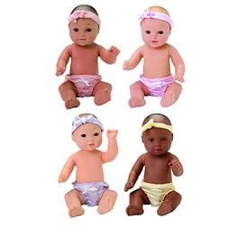 Constructive Playthings CPX-485 Tender-Touch Baby Dolls - Co