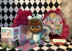 Cry Babies Magic Tears Fantasy Winged House LILA  Mini Doll