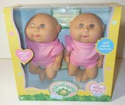 Cabbage Patch Kids Cuddle And Love Twins Tiny Newborn 2x Fun
