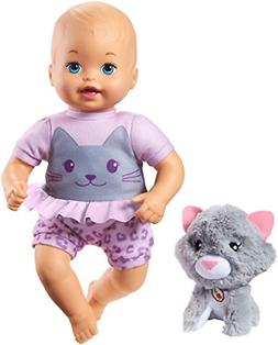 Little Mommy Cuddle and Care Doll  & Kitty