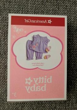 American Girl Cuddly Giraffe Pajamas for Bitty Baby Dolls -