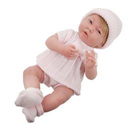 JC Toys Cuddly Realistic Newborn Girl Baby Doll