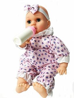 Cute Magic Baby Doll Giggling Talking and Crying Doll Toy In