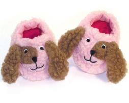 Cute Puppy Dog 18 Inch Doll Slippers Sized to Fit 18 Inch Am