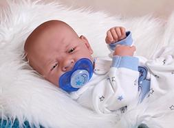 Cute and Beautiful Baby BOY Sooo Sweet Preemie 14 Inches Lif