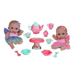 JC Toys Designed by Berenguer Baby Play Dolls, Pink, Purple,