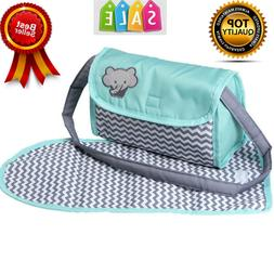 Diaper Bag Accessories Changing Set NEW Baby Doll Zig Zag Ge